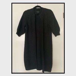 EXPRESS Long Black Sweater (3/4 Length)